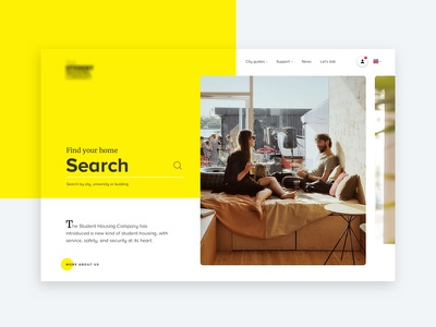 Housing Website - Creative Concept nav iphone website web design mobile design web design