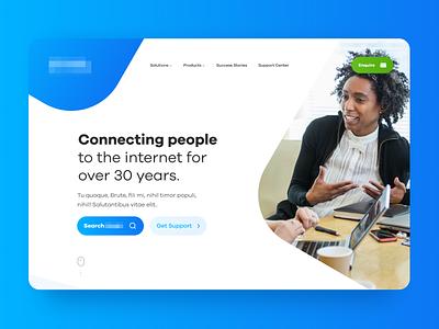Hosting UII [WIP] ui wip website web design design branding