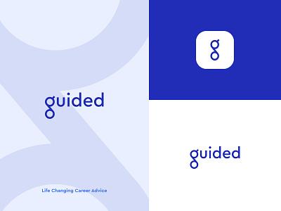 Guided Branding typography ui web design brand design logo branding