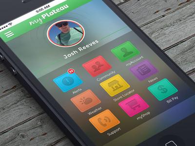 myPlateau App Concept