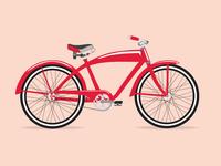Big Red Bike