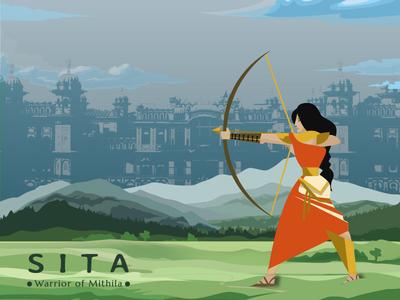 Sita - Illustration