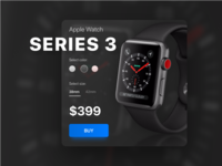 Apple Watch. Series 3. Ui