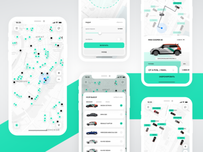DELIMOBIL - Carsharing (iOS/Android App)
