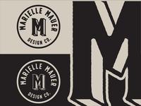 Marielle Mauer Design Co. Logo & Branding