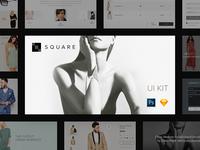 SQUARE UI KIT Release