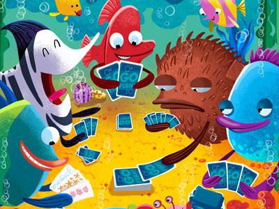 Go Fish fish photoshop painter highlights magazine