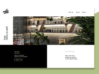 Brand Identity and Web design for a CBD Shop