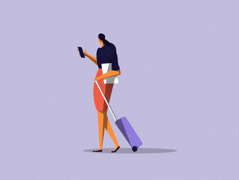 Illustration o top4shots fashion ctos itechart vector charachter illustration art texture illustration graphic art design women travel