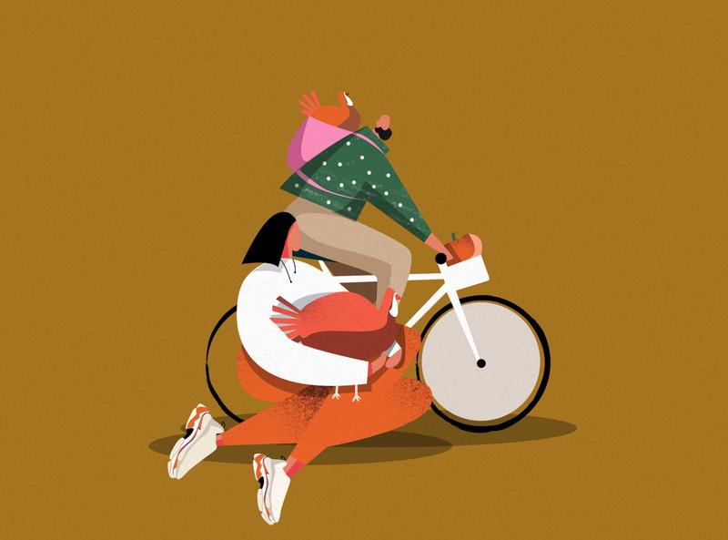 The Thanksgiving-themed post 🦃🥮♥️ thanksgiving day graphic art design itechart illustration