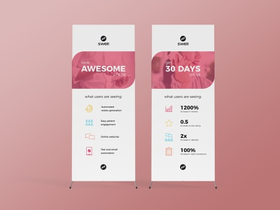 Swell - Event Banners design banners