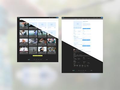 GuideGuru - SQRD Project wireframes website branding design