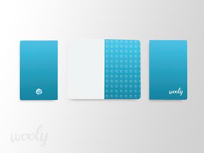 Wooly Notebook design notebook branding