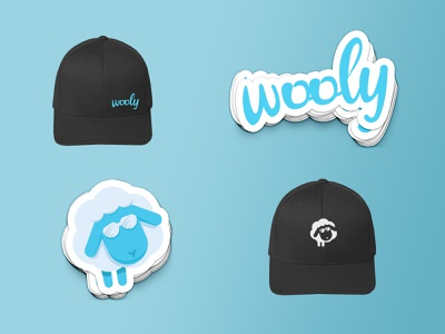 Wooly Swag swag design branding