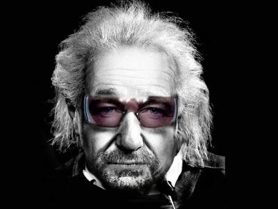 Albert Bono Einstein photoshop manipulation photo