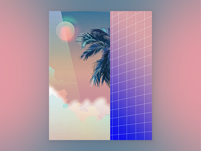 #mood 🕶 vector visual design iamnaomidesign graphic design creative consulting art direction color palette art deco aesthetic conceptart illustration illustrator adobeart