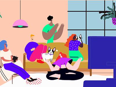 Sunday Funday adobe graphic design illustrator illustration character illustration branding
