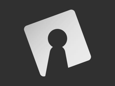TAS logo (black & white version)