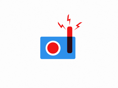 News icon ui ux prototype icons simple vector web blue