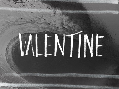 Valentine vday valentine typography lettering hand lettering brush hand-writing hand ink paper calligraphy