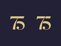 75 or 75?