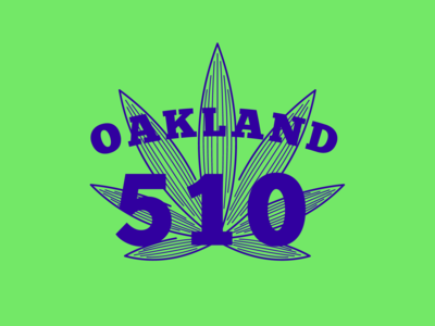 Oakland 510 — T-shirt Design