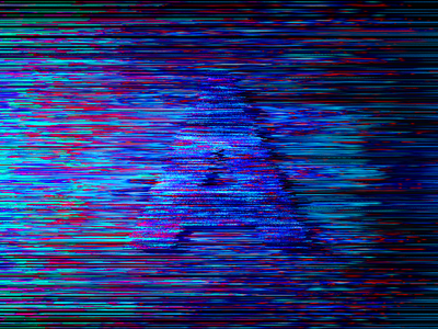 36daysoftype - A letter graphicdesign color abstract glitch lettering alphabet 36daysoftype typography a