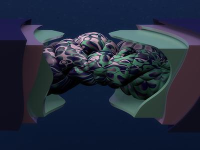 Inside inside maxon texture 36days abstract graphic design 3d c4d