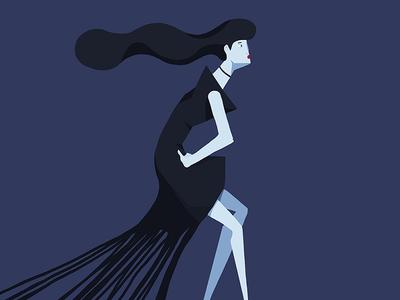 Gumdress fashion illustration character design illustration