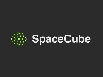 SpaceCube Logotype star expend tools designer artist computer search software escher flower cube space