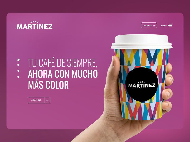 Café Martínez - Web Design