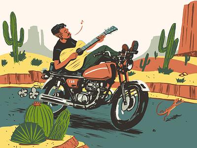 Brett Jones illustration
