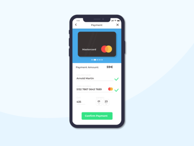 Daily UI #2 - Credit Card Checkout