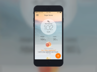 Diabetes App Content tiles