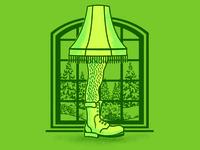 Fragile - Hairy Leg Lamp