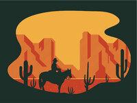 Southwest print