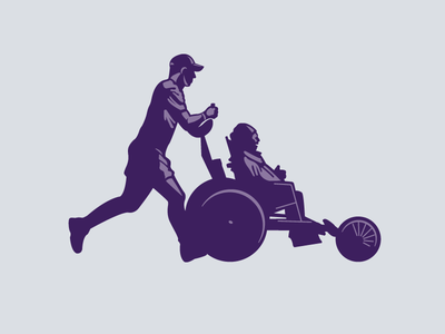 Paul's Dream Team illustration memphis marathon running logo art direction illustration