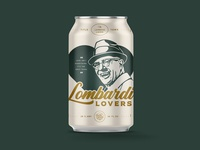 Lombardi Lovers Beer Can