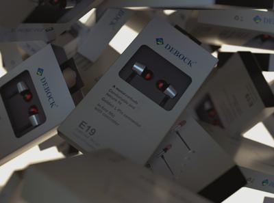 Debock Earphones - 1 Packaging