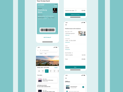 Cruisr - Early Impression ux ui identity lífve design
