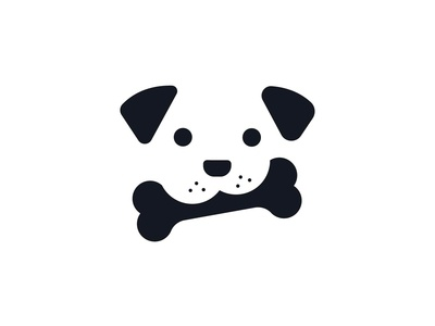 Cute Bone Puppies Dribbble Copy 2
