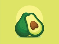 Avocado Illustration