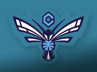 Charlotte Hornets logo sports logos branding nba charlotte hornets