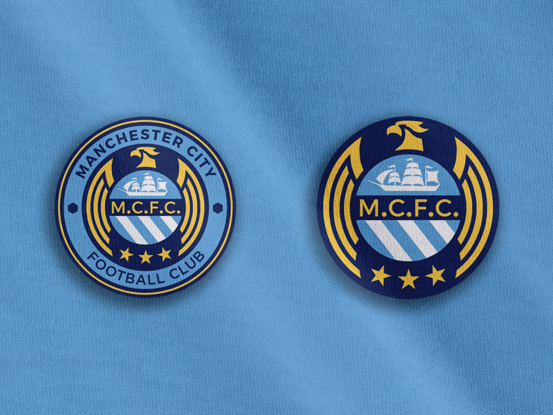 Manchester City Crest Concept By Mark Crosby On Dribbble