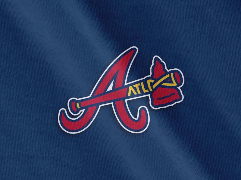Braves Clean-up Concept  tomahawk baseball mlb braves atlanta