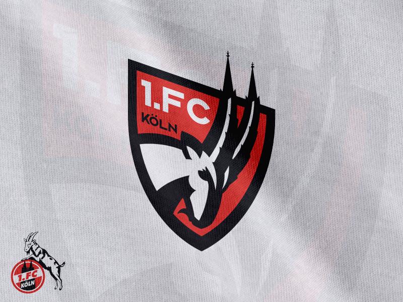 1.FC Köln Crest Concept bundesliga football logo crest soccer
