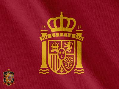 Simplifying Spain fifa uefa españa football logo crest soccer