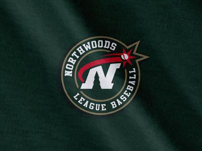 Northwoods League collegiate college madison wisconsin baseball sports logo