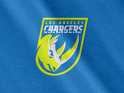 LA Chargers - Volt Bolts football sports concept logo relocation nfl san diego los angeles