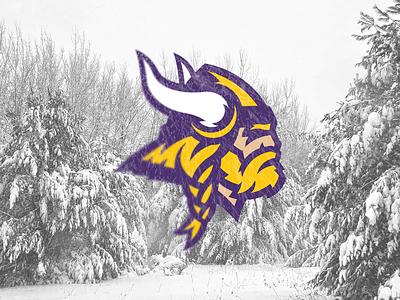Minnesota Vikings beard sports logo skol football norse north nfc nfl